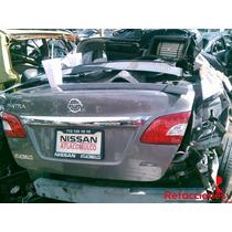 Nissan Sentra 2013 Refacciones Por Partes Seminuevas