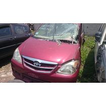 Toyota Avanza 2007-2011 X Partes,refacciones, Piezas,desarm