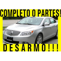 Buick Lacrosse 2010 Completo O Partes!!
