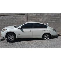 Altima Nissan 2007 Aut Mto Hybrido 2.5 Lit Para Partes Y Ref