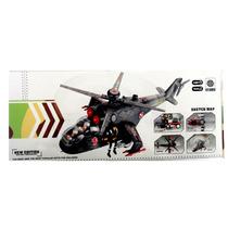 Helicoptero Juguete Luces Sonido Helices Giro 360 Movimiento