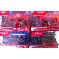 Set De Aviones Coleccionables Aviones Disney Nuevis Sellados
