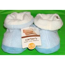 Carter´s Pantuflas Para Bebe 6 A 12 Meses Modelo Perrito