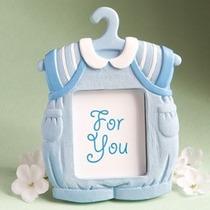 Recuerdito Portaretrato Trajecito Para Bebé