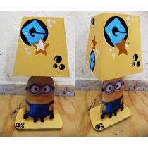 Lamparas Los Minions Centro Infantil Personalizados