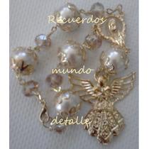 Baby Shower Recuerditos Angelitos Misterio Perla Cristal