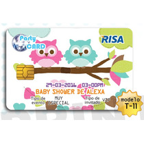 Invitaciones Baby Shower Super Originales Tipo Tarjeta