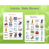 Loteria Baby Shower Imprimible