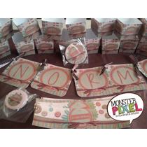 Kit Para Mesa De Dulces Candy Buffette Para Todo Evento