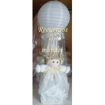 Centros De Mesa Bautizo Baby Shower Recuerdo Angelitos