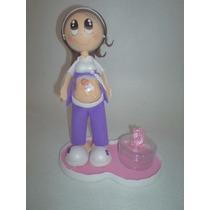 Centro De Mesa Baby Shower,embarazada, Recuerdos