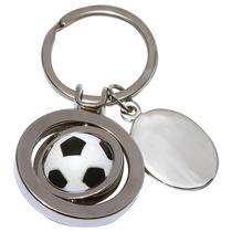 Llavero De Metal Balon De Soccer. Unico