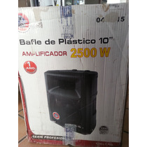 Bafle Amplificado 10 Megapower
