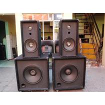 Bafles 15 Monitores 10 Bocinas Para Sonido