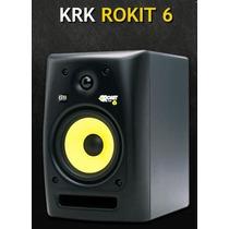 Monitor De Estudio Krk 6 Rokit G2 De 6 Pulgadas Amplificado