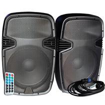 Combo Bafles Beat 15 Bluetooth Bafle Biamplif + Pasivo