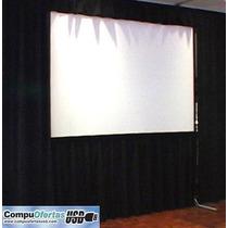Pantalla Gigante De Proyector Video Proyeccion Back & Front