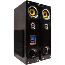 Par De Torres Audio Profesional 3500w Usb Sd Bluetooth Xaris