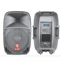 Bafle Kaiser 6215bt Biamplificado 3500w Usb Sd Fm Bluetooth
