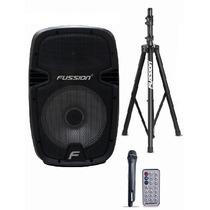 Bafle Activo Usb Bluetooth 3500w Bocina 10 Tripie Microfono