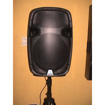 Bafle Amplificado Steren 15 Baf-1585 Con Radio Fm