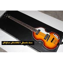 Bajo Höfner Htc500/1 Beatle Viola Bass