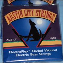 Juego De 4 Cuerdas Para Bajo Austin City Acb-lt