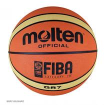 Balón Basquetbol Bgr6 Giugiaro Hule No.6 Molten.