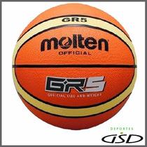 Balón Molten Basquetbol Hule Gr5 Giugiaro N. 5