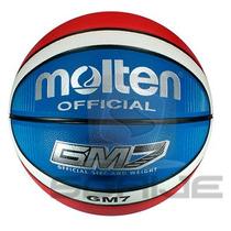 Balón Basquetbol Tric Giugiaro Piel Sintetica N.7 Molten Gm7