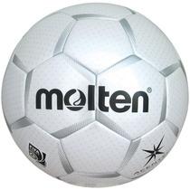 Molten Acentec Soccer Ball (white/silver, Size 5)