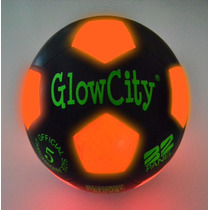 Tb Pelota De Futbol Light Up Led Soccer Ball Black
