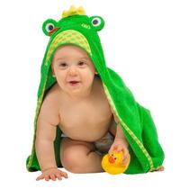 Toalla Para Bebé Rana Verde