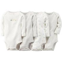 Unisex Del Bebé De Carter 4 Paquete Body (baby)