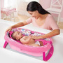 Bañera Para Bebe Plegable Summer Infant Color Rosa