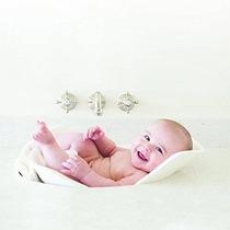 Puj Hidromasaje - La Suave Plegable Del Bebé Bañera (blanco)