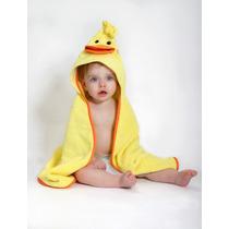 Toalla Para Bebé Pato Amarillo