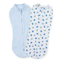 Summer Infant Swaddlepod 2-pack Dino Camiones Recién Nacido