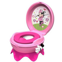 Bañito Entrenador Disney Minnie Mouse 3 In 1 Potty