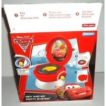 Rev And Go Cars 2 Potty System Bañito Entrenador Con Sonido