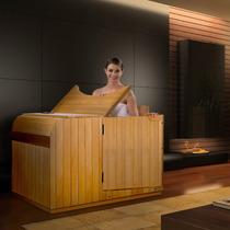 Baño Sauna Para 1 Persona Inflarrojo Paneles 3 Carbon