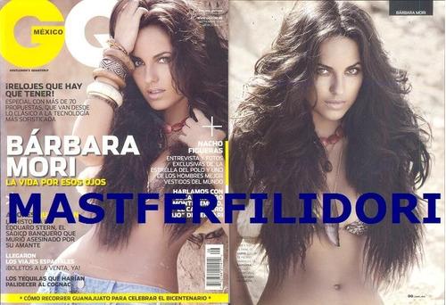 Barbara Mori Revista Gq Mexico De Septiembre 2010