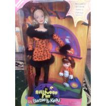 Barbie Y Kelly Set Divertido De Halloween
