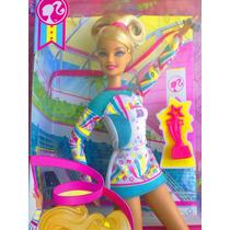 Barbie Deportista De Acrobacias Con Liston