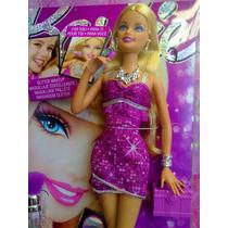 Barbie Maquillaje Con Glitters