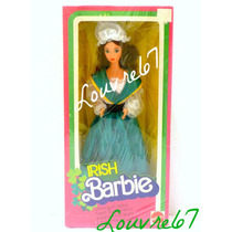 Barbie Del Mundo Irlanda Irish 1era Edicion 1984 Coleccion