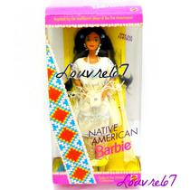 Barbie Del Mundo Nativa Americana 1era Edicion 1993 Coleccio