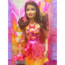 Barbie Fashionista Vestida De Monos Y Flores