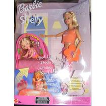 Barbie Muñeca Y Kely Set De Habitacion Mágica Sueños Luminos