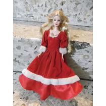 Barbie Vintage Con Vestido Original Navidad Holiday